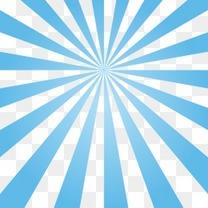 蓝色不规则形状