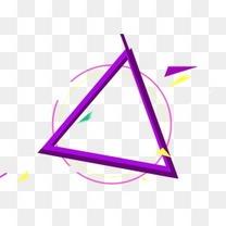 立体不规则多边形元素