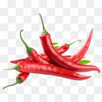 红色辣椒图案