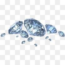 钻石漂浮元素