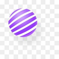淘宝紫色球