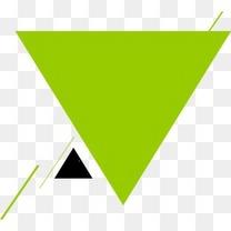 绿色扁平图案