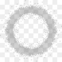 水墨梅花素材墨迹素材 圆形 圆环