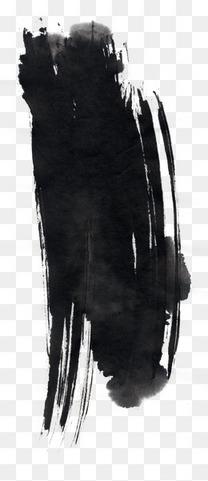 中国风黑色墨迹