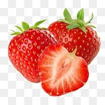 新鲜水果红色草莓