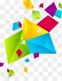 多彩几何元素