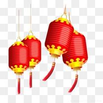 红色灯笼图案