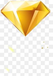 金色钻石图案