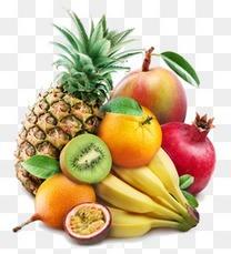 3d剪影卡通素材水果