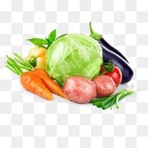 手绘3d水果素材水果图标 蔬菜