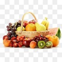 水果卡通食物图标  精美水果筐