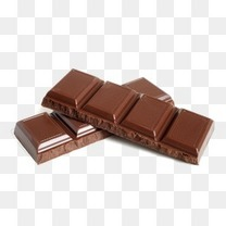 巧克力块美食