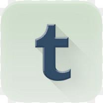 tumblr社会图标