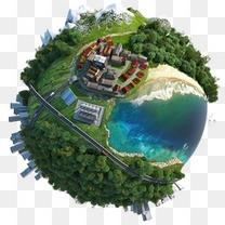 创意地球图案创意地球图片