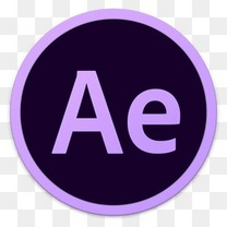 Adobe Ae图标