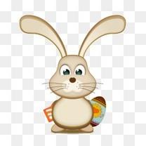 复活节兔子蛋RSS图标
