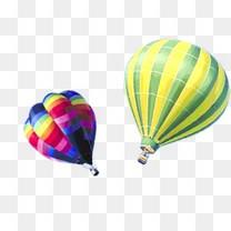 氢气球漂浮