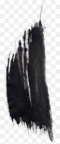 中国风黑色水墨墨迹