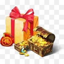 礼包礼盒宝箱