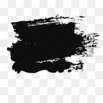 水墨画专辑 笔画 黑色 中国风 墨水 笔刷 墨迹专辑