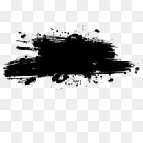 水墨画专辑笔画黑色中国风墨水笔刷