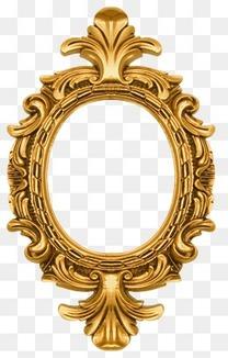 欧式复古华丽花纹镜框相框边框