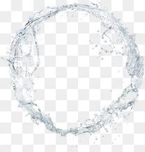 水环 水波纹 水滴