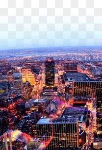 城市背景图案