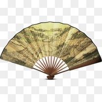唯美中国风扇子折扇