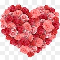 玫瑰花爱心