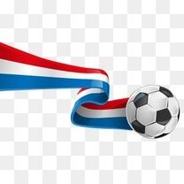 足球装饰矢量元素