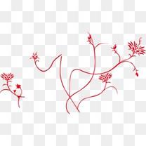 花纹纹理边框剪纸