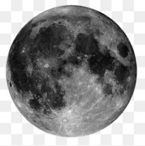 黑色的月亮星球