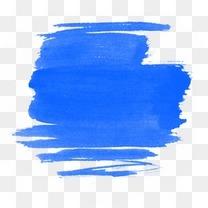 水彩墨迹笔刷元素