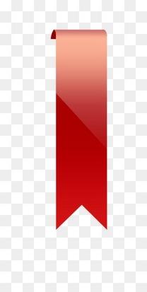 红色丝带标签