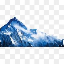 山峰 雪山