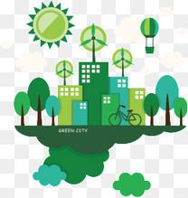 城市环保素材