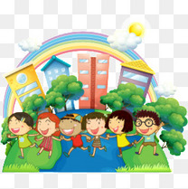 卡能幼儿园插画