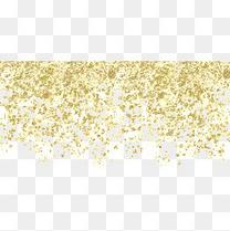 洒开的金粉
