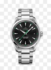 欧米茄绿色腕表手表男表