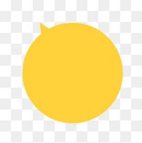 黄色对话框