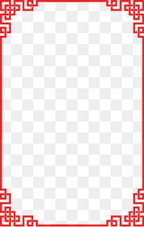 红色边框 古画边框