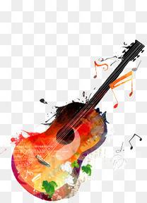 吉他与音乐
