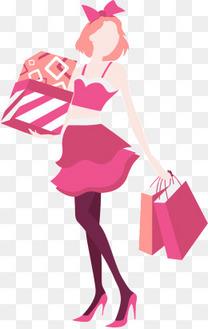购物的女人