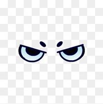 卡通手绘眼睛表情