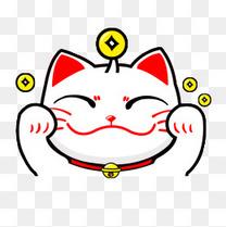 卡通招财猫