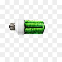 环保绿色灯泡