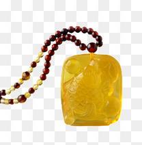 琥珀蜜蜡项链
