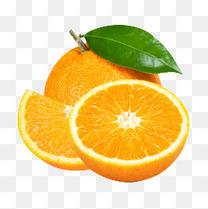 水果橙子橘子营养健康果肉