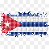 矢量古巴国旗